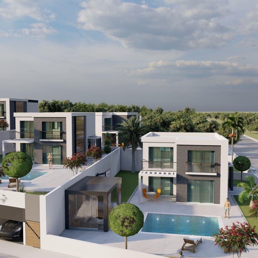 Didim Deniz Emlak Villa 1. Etap Projeleri
